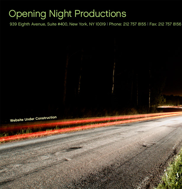 opening night productions